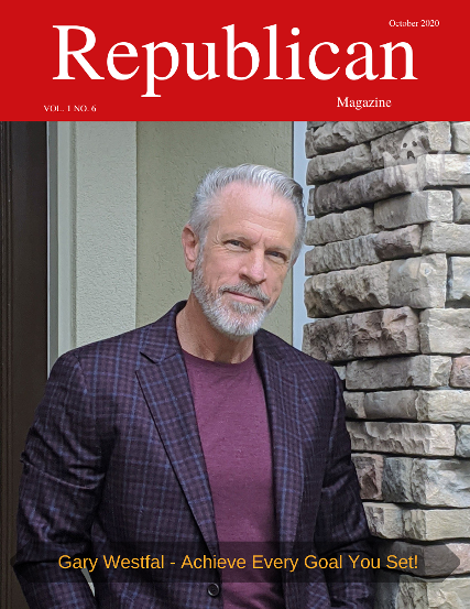 Gary Westfal on the Cover of Republican Magazine October 31st 2020