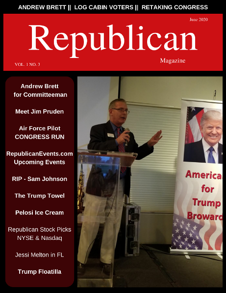Log Cabin Republicans President Andrew Brett Declares his candidacy for Committeeman June 2020